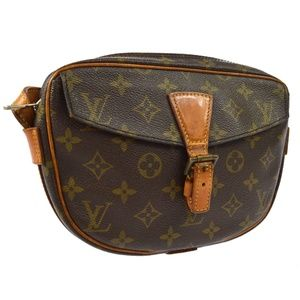 AUTH LOUIS VUITTON JEUNE FILLE PM CROSS BODY SHOUL